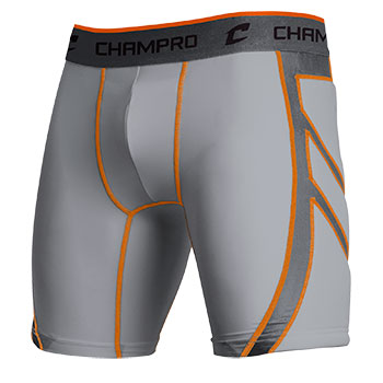 Wind-Up Compression Short Grey