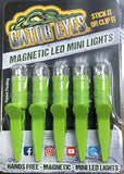 Gator Eyes Magnetic LED Clip Mini Lights (5 pack)