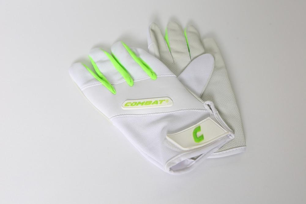 Combat Derby Life Girls Batting Glove Lime
