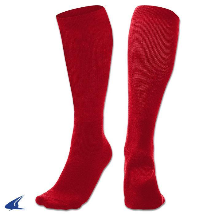 Champro Sports MULTI-SPORT SOCK RED