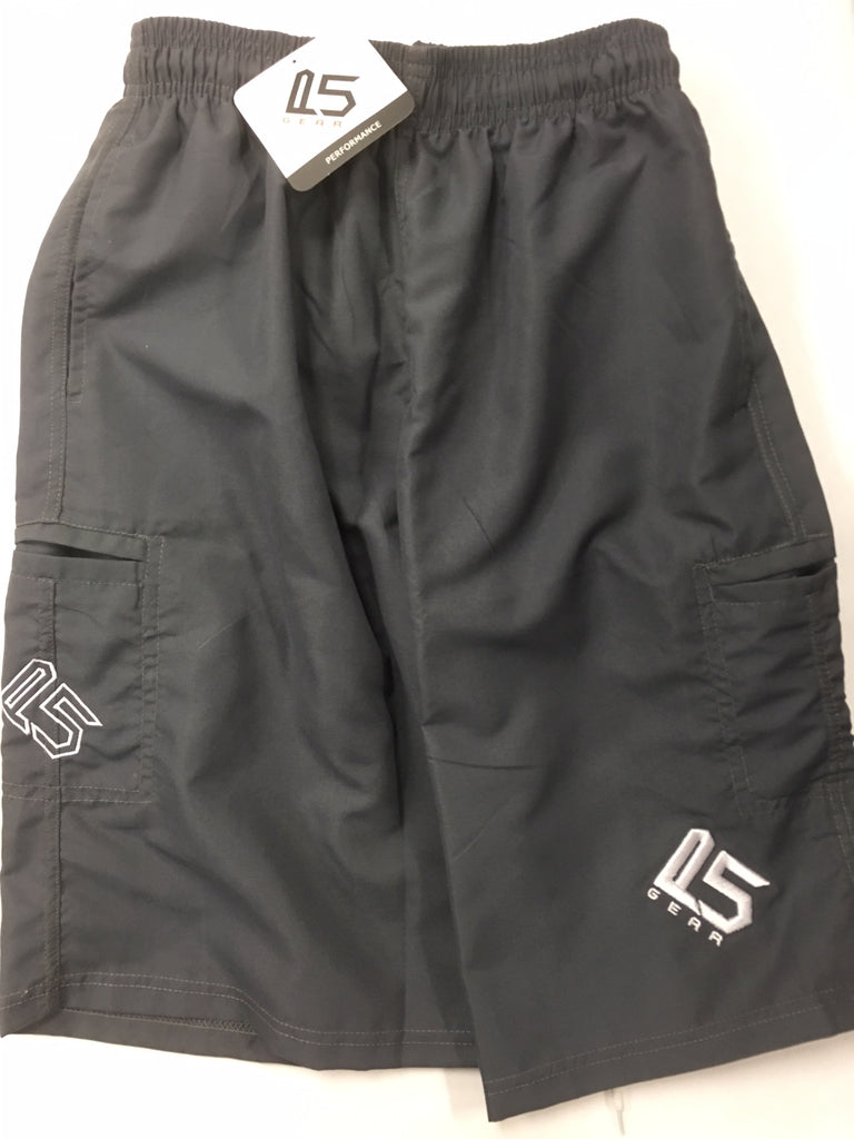 P5 Off The Field Shorts Charcoal