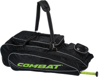 Combat Maxum Player Roller Bag -Lime