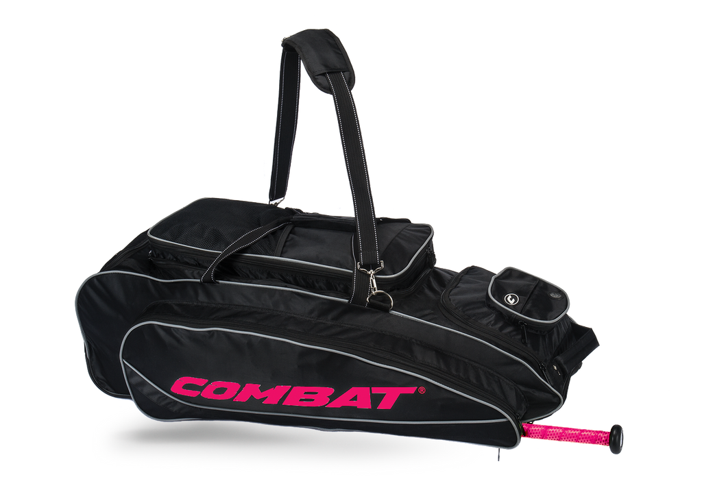 Combat Maxum Player Roller Bag -Pink