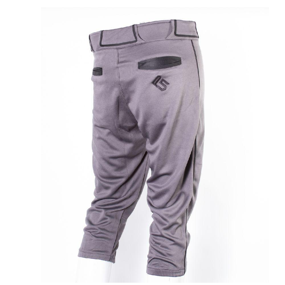 P5 Passe Knicker Style Pant Charcoal/Black