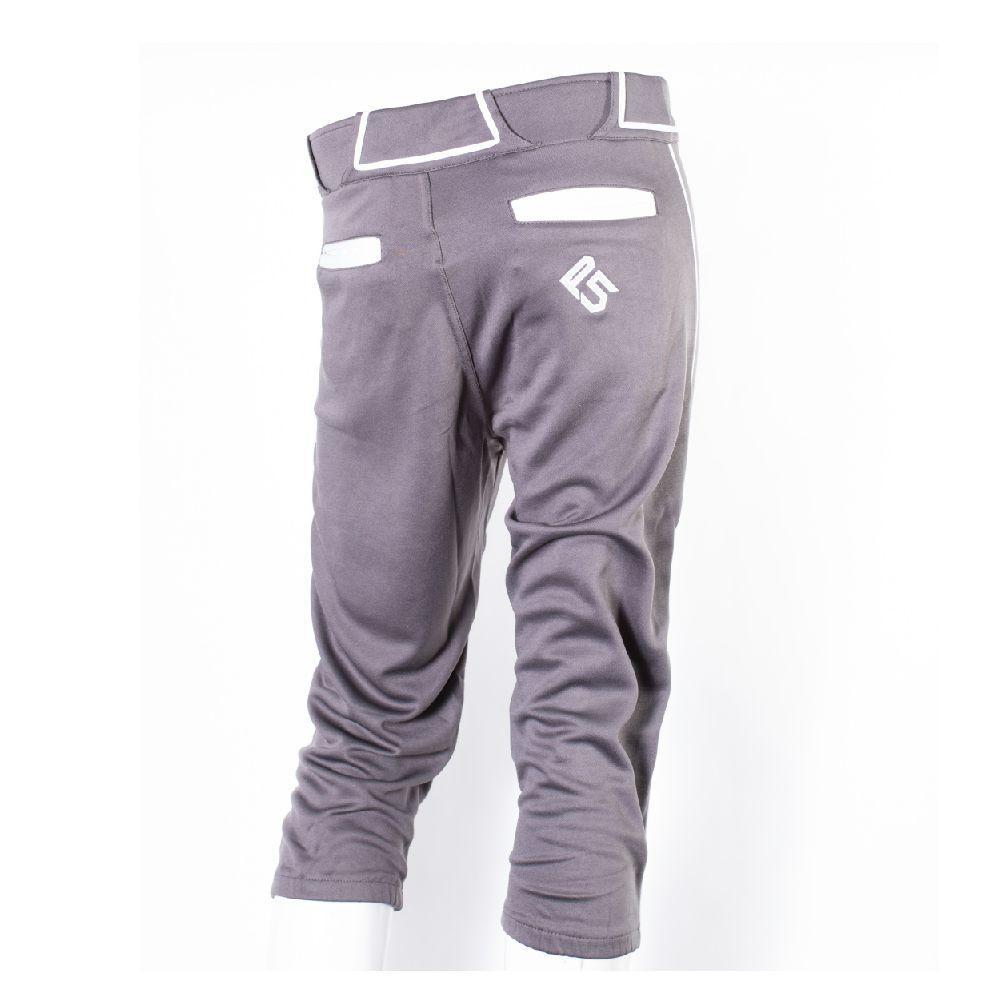 P5 Passe Knicker Style Pant Charcoal/White