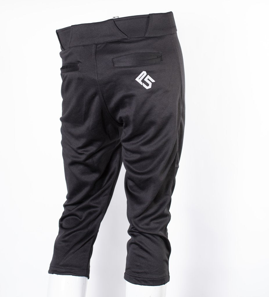P5 Passe Knicker Style Pant Solid Black