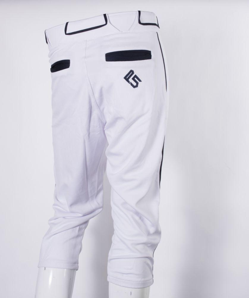 P5 Passe Knicker Style Pant White/Navy