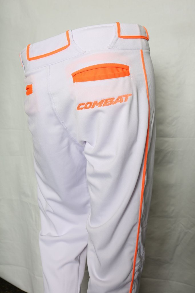 Premium Stock Pant White/Orange