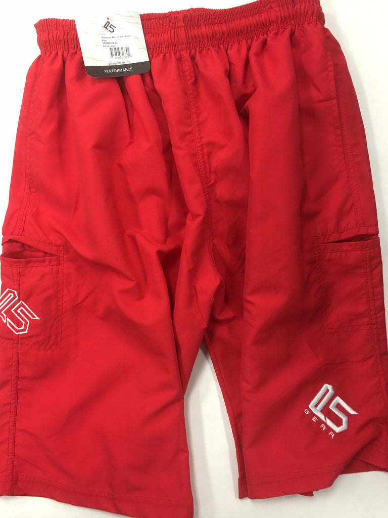 P5 Off The Field Shorts Red