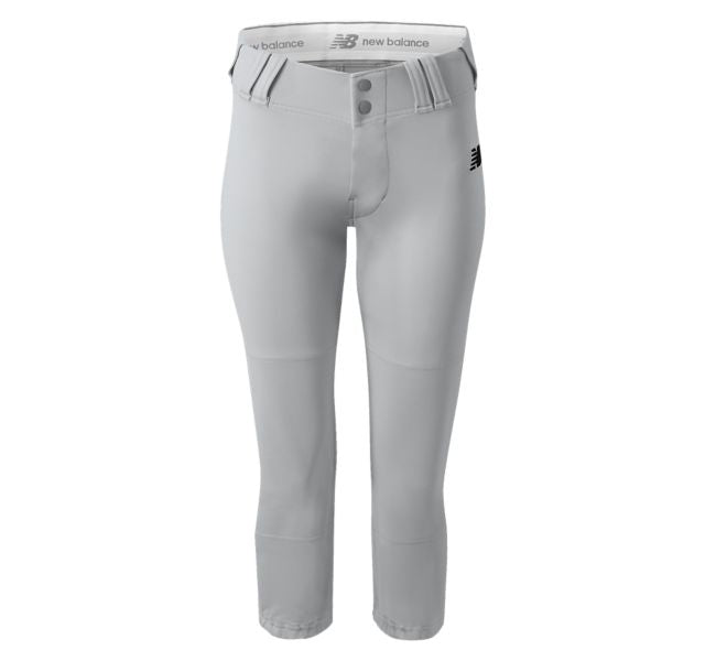 NEW BALANCE GEM WOMEN'S STOCK FASTPICH PANT GREY BWP111