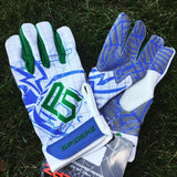 Spiderz P5 White batting gloves