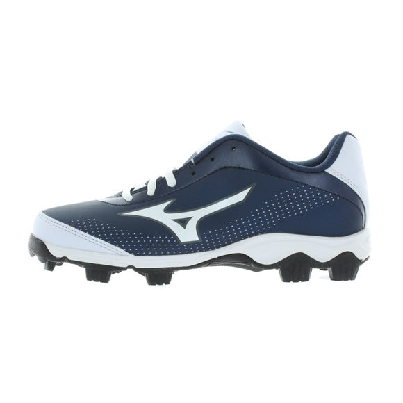 MIZUNO 9-SPIKE FRANCHISE 7 LOW MOLDED BASEBALL CLEATS  Navy