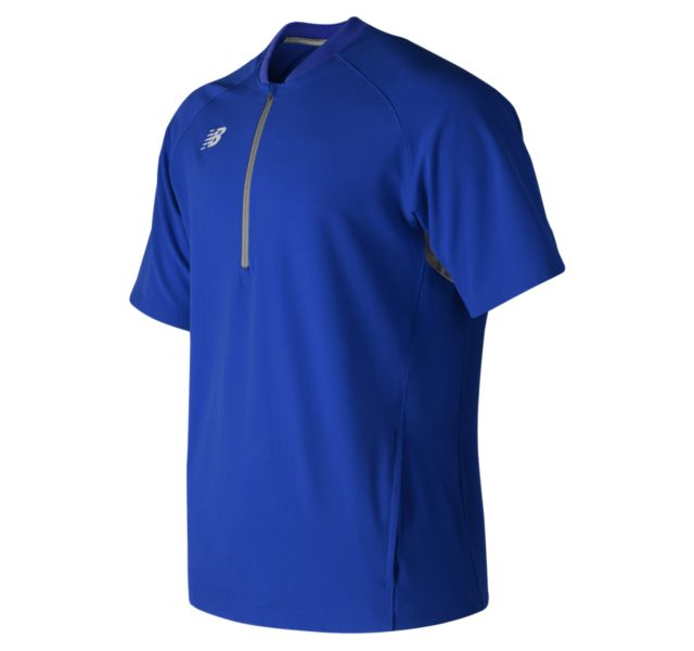 NEW BALANCE Men's Short Sleeve 3000 Batting Jacket ROYAL