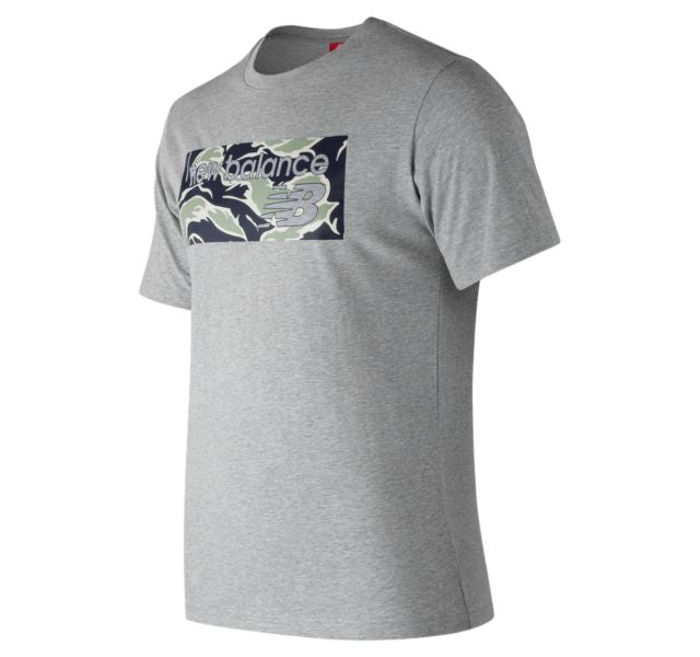 New Balance Athletics Camo T-Shirt Grey MT83565