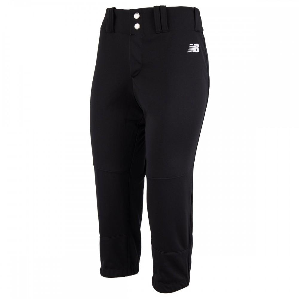 NEW BALANCE PROSPECT 2.0 YOUTH GIRL'S STOCK FASTPITCH PANT BLACK