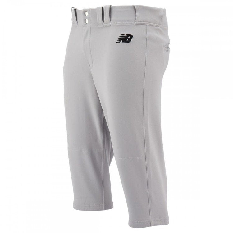 New Balance Adversary 2.0 Youth Solid knicker Baseball Pant -BBP236 GREY