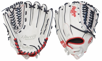 "Rawlings Liberty Advanced RLA125FS-15WNS 12.5"" Fastpitch Softball Glove FPG"