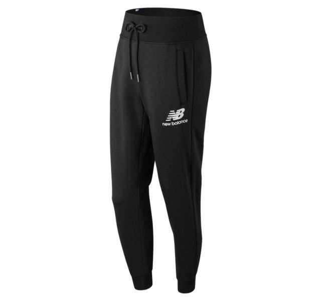 NEW BALANCE Women's Essentials Brushed Jogger Sweatpant Black