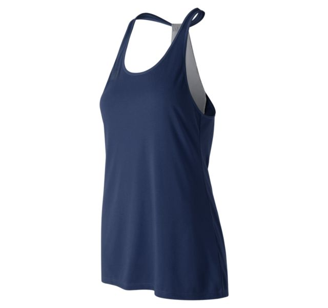 NEW BALANCE Women's Game Changer Tank NAVY