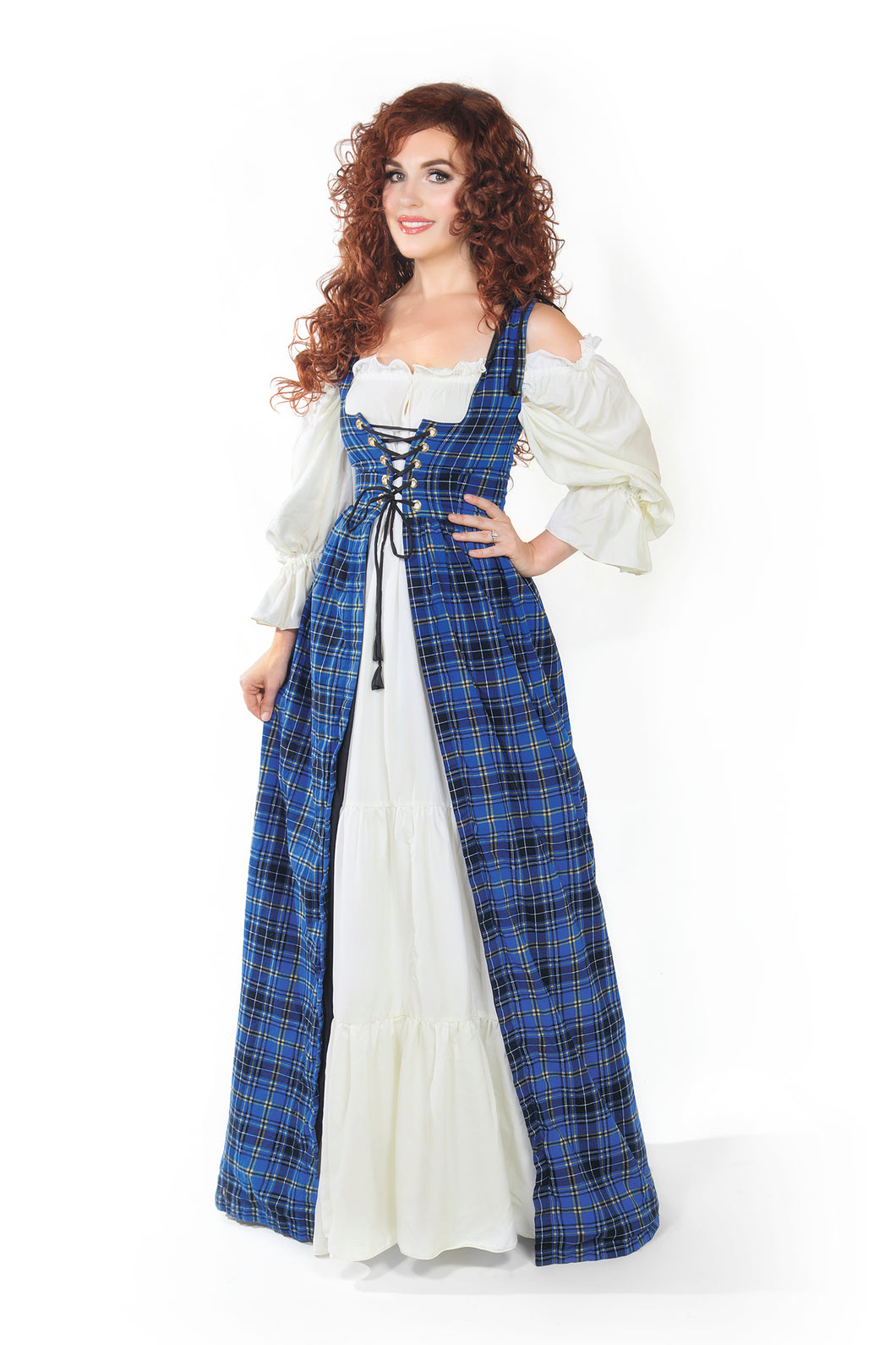 Scottish Costume Tartan Plaid Renaissance Faire Outlander Highland Games