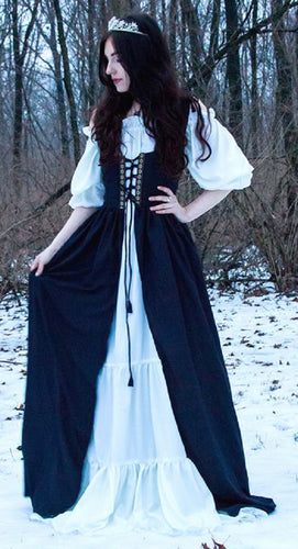 Renaissance Medieval Irish Fitted Over Dress