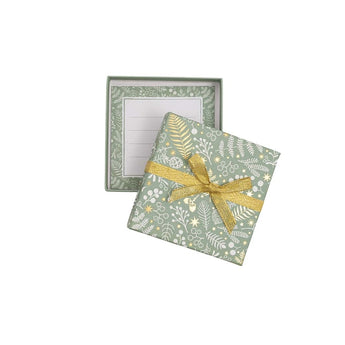 Small Gift Box - Green Berry Design