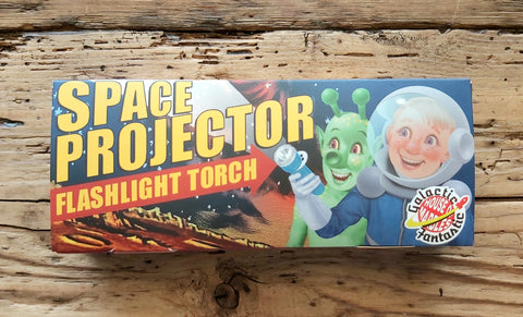 Space Projector Flashlight Torch