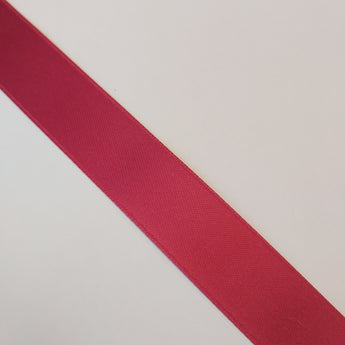 Christmas Red Satin Ribbon - By The Metre