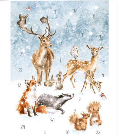 'Winter Wonderland' Advent Calendar