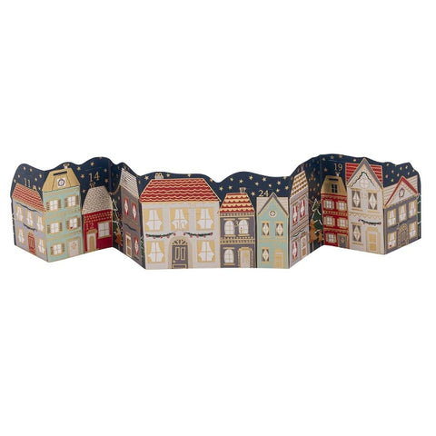 Advent Calendar - Row of Houses