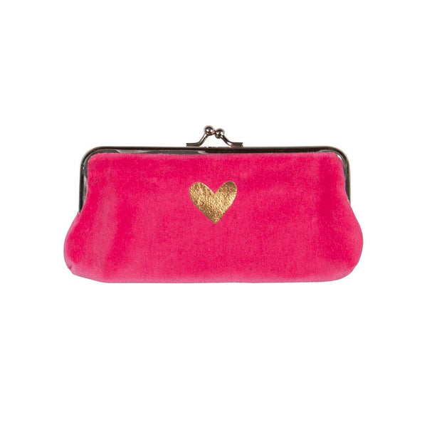 Bright Pink Cosmetic Bag