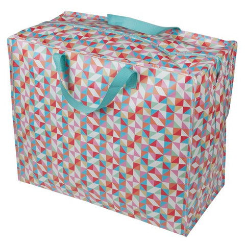 Geometric Jumbo Storage Bag