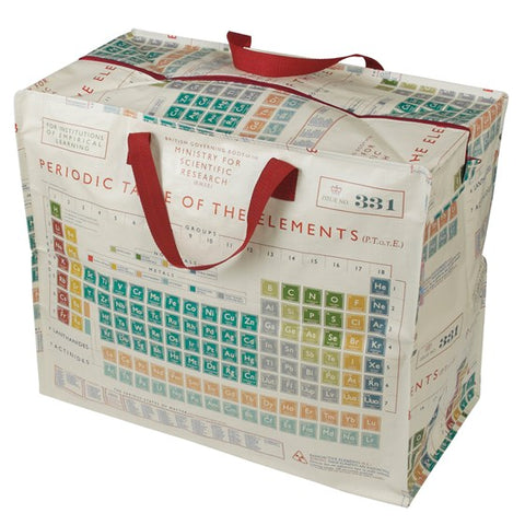 Periodic Table Jumbo Storage Bag