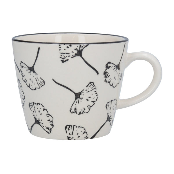 Ginkgo Outline Design Mug