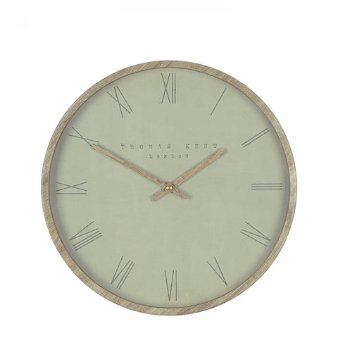 Nordic Wall Clock - Olive