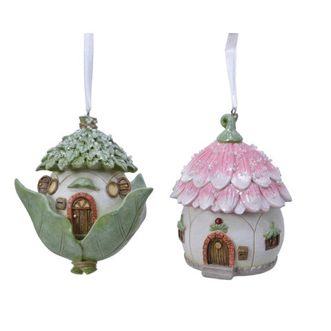 Fairy House Hanging Decoration - Assorted