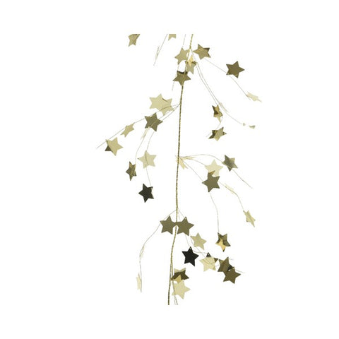 Tiny Gold Star Garland