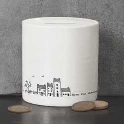 Porcelain Money Box - Keep The Change
