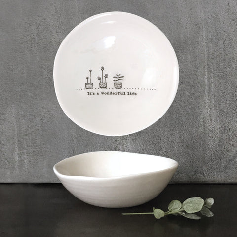 Medium 'It's A Wonderful Life' Bowl