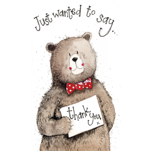 Bear Thank Yous - Pack of 5 Cards