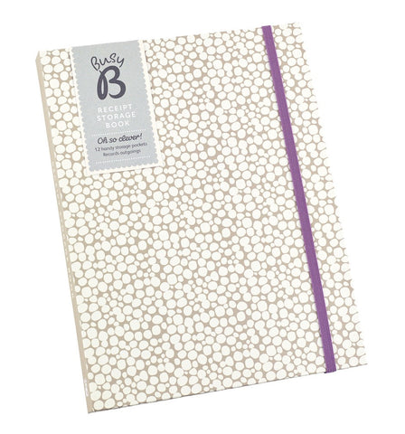 Busy B Receipt Storage Book