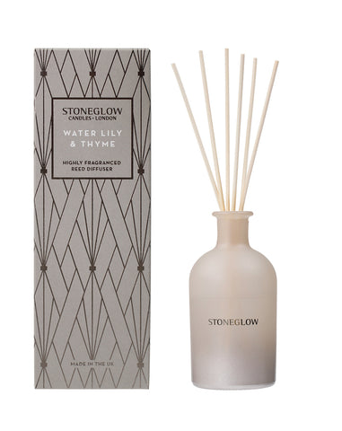 Geometric - Water Lily & Thyme Reed Diffuser