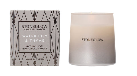 Geometric - Water Lily & Thyme Candle