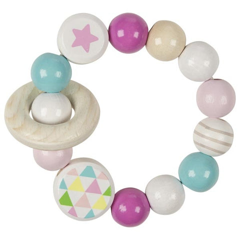 Touch Ring Elastic Star - Pink