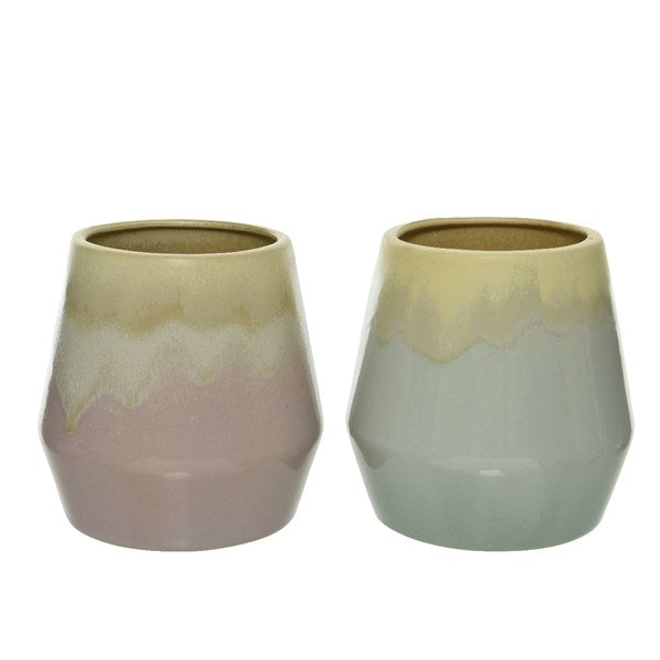 Porcelain Glazed Vases - Assorted