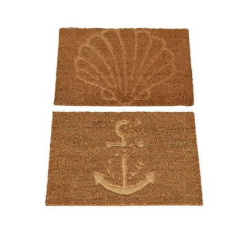 Coir Doormat - Nautical