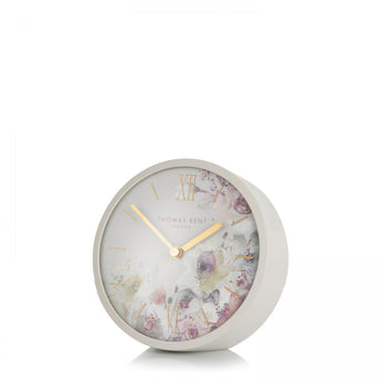 Crofter Mantel Clock - Light Grey