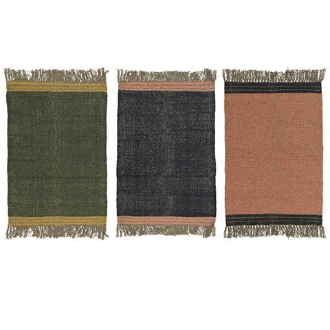 Small Cotton Rugs - Assort. Colours