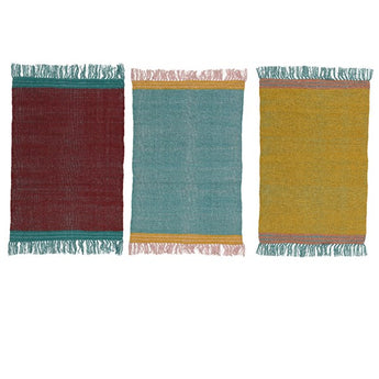 Small Cotton Rugs - Assorted Colours