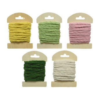Wool Ribbon - Assorted Colours